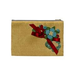 Pya Summerfun Cosmeticbag1 By Paula Yagisawa   Cosmetic Bag (medium)   5xmjgs6mmgsi   Www Artscow Com Back