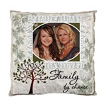 Family by Chance, Friends by Choice 2-Sided Cushion Case - Standard Cushion Case (Two Sides)