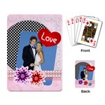 love - Playing Cards Single Design