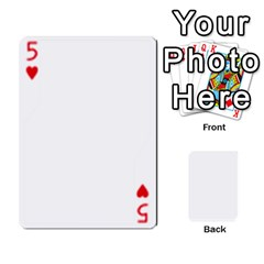 Asdf By Steve Choi   Playing Cards 54 Designs   Fr7r7b8q0eec   Www Artscow Com Front - Heart5