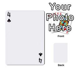 Asdf By Steve Choi   Playing Cards 54 Designs   Fr7r7b8q0eec   Www Artscow Com Front - Club4
