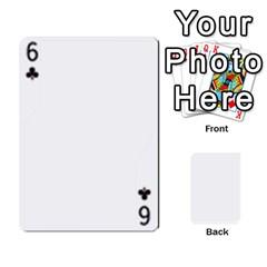 Asdf By Steve Choi   Playing Cards 54 Designs   Fr7r7b8q0eec   Www Artscow Com Front - Club6