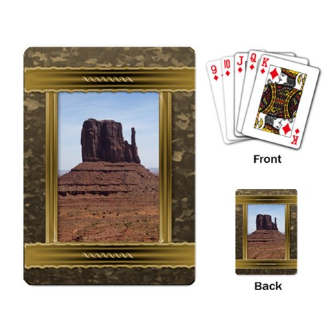 All Framed Playing Cards By Deborah   Playing Cards Single Design   Fbmuaapqg90f   Www Artscow Com Back