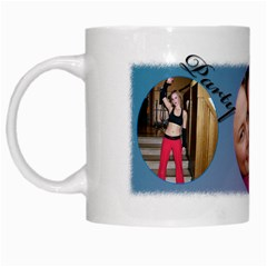 Fuzzy Mornings Mug By Deborah   White Mug   Rmk119fr9o3v   Www Artscow Com Left