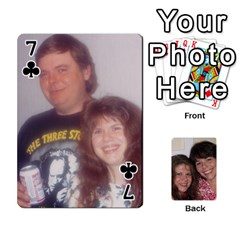 Laura And Bill   Finished By Edie Zilio   Playing Cards 54 Designs   Smervpv44b9m   Www Artscow Com Front - Club7
