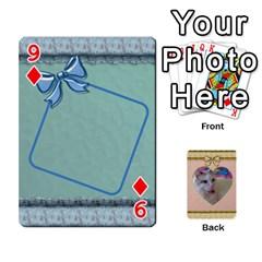 Elegant 54 Card Design By Deborah   Playing Cards 54 Designs   7wzowto6mw5f   Www Artscow Com Front - Diamond9