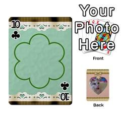 Elegant 54 Card Design By Deborah   Playing Cards 54 Designs   7wzowto6mw5f   Www Artscow Com Front - Club10