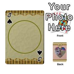 Jack Elegant 54 Card Design By Deborah   Playing Cards 54 Designs   7wzowto6mw5f   Www Artscow Com Front - SpadeJ
