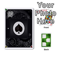 Jack Piecepack Card Suit Ace To King By Melody   Playing Cards 54 Designs   Qx7cp4yv2lry   Www Artscow Com Front - HeartJ