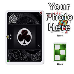 Piecepack Card Suit Ace To King By Melody   Playing Cards 54 Designs   Qx7cp4yv2lry   Www Artscow Com Front - Club2