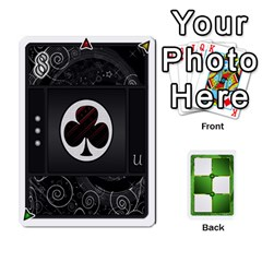 Piecepack Card Suit Ace To King By Melody   Playing Cards 54 Designs   Qx7cp4yv2lry   Www Artscow Com Front - Club9