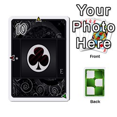 Jack Piecepack Card Suit Ace To King By Melody   Playing Cards 54 Designs   Qx7cp4yv2lry   Www Artscow Com Front - ClubJ