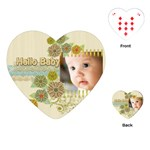 baby - Playing Cards (Heart)
