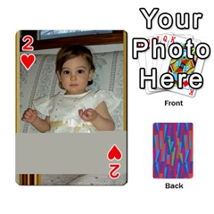 Photo Playing Cards By Lou Fazio   Playing Cards 54 Designs   Sfa42x0eei98   Www Artscow Com Front - Heart2