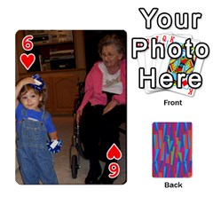 Photo Playing Cards By Lou Fazio   Playing Cards 54 Designs   Sfa42x0eei98   Www Artscow Com Front - Heart6