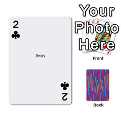 Photo Playing Cards By Lou Fazio   Playing Cards 54 Designs   Sfa42x0eei98   Www Artscow Com Front - Club2