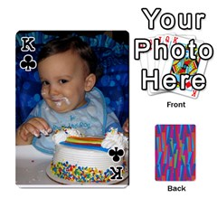 King Photo Playing Cards By Lou Fazio   Playing Cards 54 Designs   Sfa42x0eei98   Www Artscow Com Front - ClubK