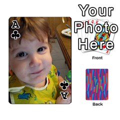 Ace Photo Playing Cards By Lou Fazio   Playing Cards 54 Designs   Sfa42x0eei98   Www Artscow Com Front - ClubA