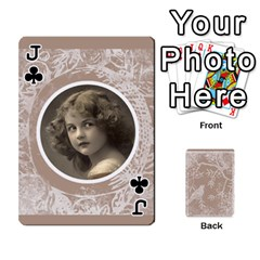 Jack Mocha Batik 54 Design Cards By Catvinnat   Playing Cards 54 Designs   D7u7xyo8jrmu   Www Artscow Com Front - ClubJ