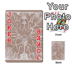Mocha Batik 54 Design Cards By Catvinnat   Playing Cards 54 Designs   D7u7xyo8jrmu   Www Artscow Com Front - Joker2
