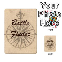 Battle Finder Deck 2 By Tom Huntington   Playing Cards 54 Designs   Pe2xi9x5dlls   Www Artscow Com Back