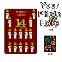 Learning Cards By Charis Balyeat   Playing Cards 54 Designs   05tm267a9p9z   Www Artscow Com Front - Club2
