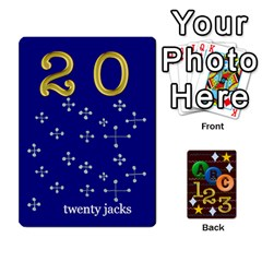 Learning Cards By Charis Balyeat   Playing Cards 54 Designs   05tm267a9p9z   Www Artscow Com Front - Club8