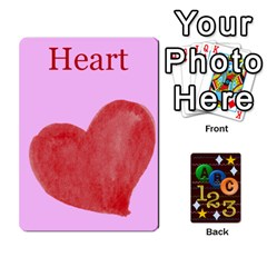 Learning Cards By Charis Balyeat   Playing Cards 54 Designs   05tm267a9p9z   Www Artscow Com Front - Club9