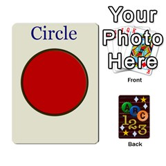 Learning Cards By Charis Balyeat   Playing Cards 54 Designs   05tm267a9p9z   Www Artscow Com Front - Club10