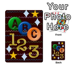 Learning Cards By Charis Balyeat   Playing Cards 54 Designs   05tm267a9p9z   Www Artscow Com Back