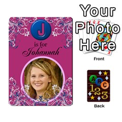 Jack Learning Cards By Charis Balyeat   Playing Cards 54 Designs   05tm267a9p9z   Www Artscow Com Front - SpadeJ