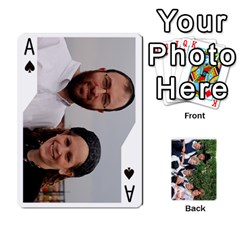 Ace Playcards2011 By Mo   Playing Cards 54 Designs   Gm3nz2stwyb0   Www Artscow Com Front - SpadeA