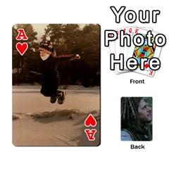 Ace Mnm By Kali   Playing Cards 54 Designs   36yijh6xtyjz   Www Artscow Com Front - HeartA