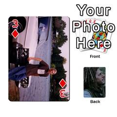 Mnm By Kali   Playing Cards 54 Designs   36yijh6xtyjz   Www Artscow Com Front - Diamond3
