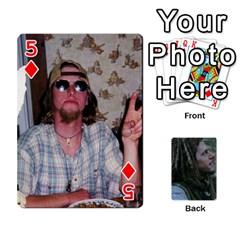 Mnm By Kali   Playing Cards 54 Designs   36yijh6xtyjz   Www Artscow Com Front - Diamond5