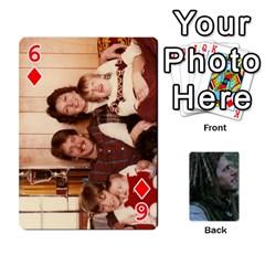 Mnm By Kali   Playing Cards 54 Designs   36yijh6xtyjz   Www Artscow Com Front - Diamond6