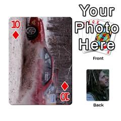 Mnm By Kali   Playing Cards 54 Designs   36yijh6xtyjz   Www Artscow Com Front - Diamond10