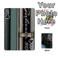 Mnm By Kali   Playing Cards 54 Designs   36yijh6xtyjz   Www Artscow Com Front - Club2