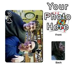 Mnm By Kali   Playing Cards 54 Designs   36yijh6xtyjz   Www Artscow Com Front - Club3