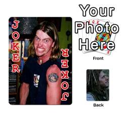 Mnm By Kali   Playing Cards 54 Designs   36yijh6xtyjz   Www Artscow Com Front - Joker2