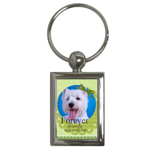 Pet By Joely   Key Chain (rectangle)   E6tei0r443sc   Www Artscow Com Front