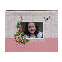 Cosmetic Bag (xl)   Sweet Smiles By Jennyl   Cosmetic Bag (xl)   Q4azetd10f7r   Www Artscow Com Front