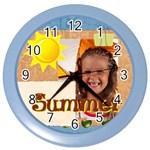 summer - Color Wall Clock