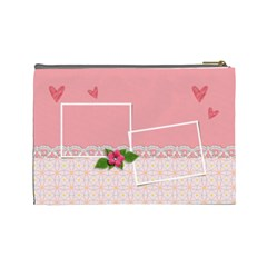 Cosmetic Bag (large)   Friends Forever By Jennyl   Cosmetic Bag (large)   1vhvfaxkf934   Www Artscow Com Back