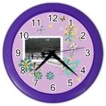 Color Wall Clock- Memories