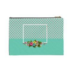 Cosmetic Bag (large)  Sweet Flowers By Jennyl   Cosmetic Bag (large)   44aoe5uzwml9   Www Artscow Com Back