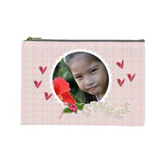 Cosmetic Bag (large)   Sweet By Jennyl   Cosmetic Bag (large)   20p61q740lep   Www Artscow Com Front