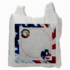 My Hero Us Military Recycle Bag Double Sided By Catvinnat   Recycle Bag (two Side)   F63qihlcsvkv   Www Artscow Com Back
