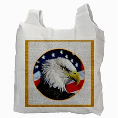 Happy Fourth Of July Recycle Bag Double Sided By Catvinnat   Recycle Bag (two Side)   Cj2tsaozieuw   Www Artscow Com Back