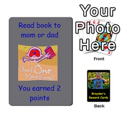 Reward Cards By Randi L  Stanley   Playing Cards 54 Designs   Q8xov8zlg7he   Www Artscow Com Front - Club4